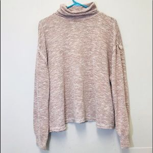 A New Day Lavender Long Sleeve Turtleneck Cozy XL
